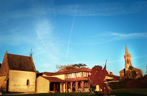 Musée d'Artagnan à Lupiac vue extérieure