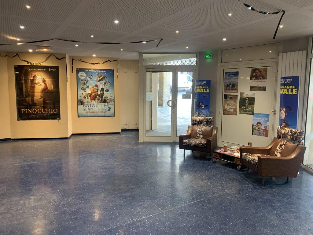 Hall du cinéma brana