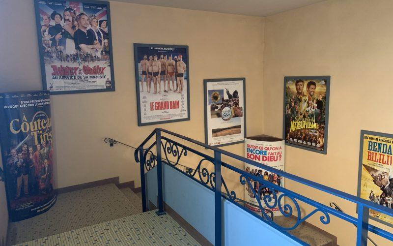 Escalier du cinéma brana